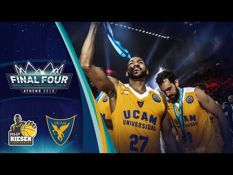 MHP Riesen Ludwigsburg v UCAM Murcia - 3rd Place - Full Game - Basketball Champions League