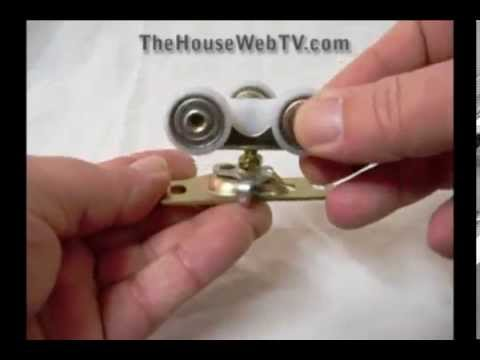 1125 Ball Bearing Pocket Door Rollers Youtube