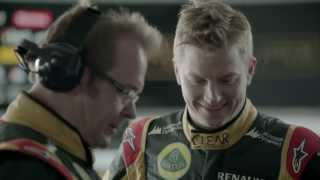 Behind The Perfect Lap: Suremen and Lotus F1 Team With Kimi Raikkonen and Romain Grosjean