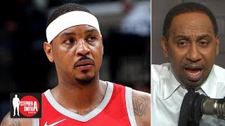 Carmelo Anthony should retire if it doesn't work out with the Lakers | Stephen A. Smith Show
