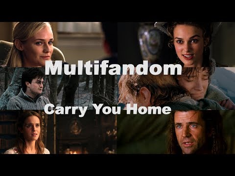 Multifandom - Carry You Home (Tiësto ft. Aloe Blacc & Stargate)