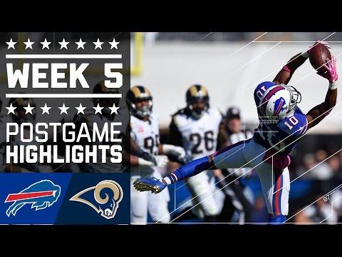 Bills vs. Rams | NFL Week 5 Game Highlights