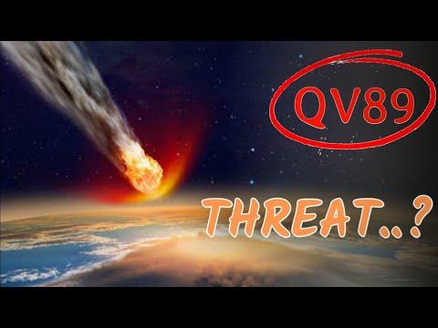 23 तारीख को जो होने वाला है? क्यों छुपाया NASA ने Asteroid Collision That Might Happen on 23rd |QV89
