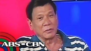 Duterte, inaming may Davao Death Squad
