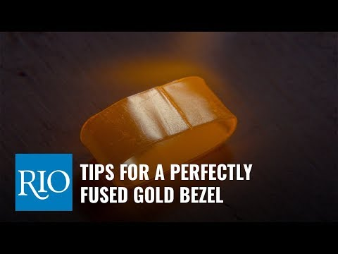 Tips for a Perfectly Fused Gold Bezel