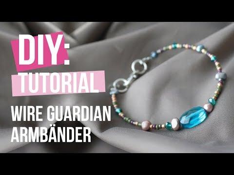 Schmuck machen: Wire guardian armbänder ♥ DIY