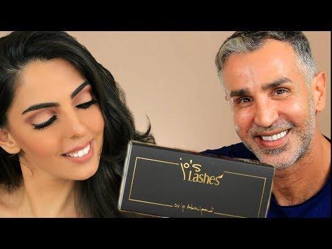 مكياج طبيعي مع خبير التجميل جو ابوجودة /naturral Glam done by celebrity makeup artist JO ABOU JAOUDE