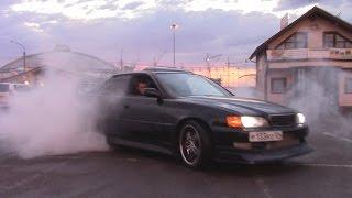видео Обзор Toyota Chaser Tourer V (таурер в)