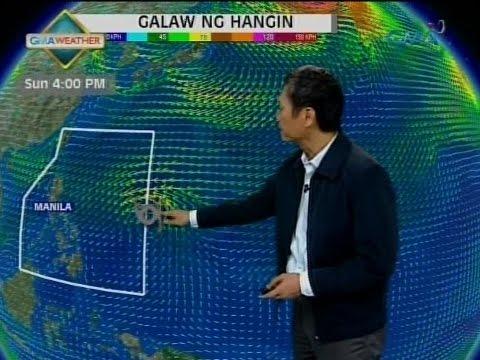 24 Oras: Bagyo malapit sa Caroline Islands, posibleng pumasok ng PAR ngayong weekend