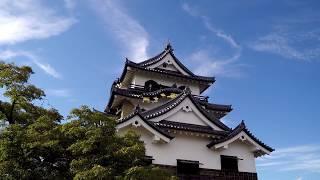 Walking Up HIKONE Castle in Japan - Shiga Prefecture