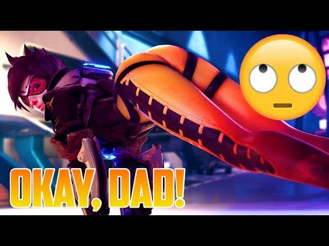 TRACER CALLS SOLDIER 76 DAD?!?
