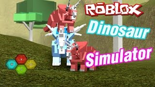 the Dinosaur Simulator on Roblox-slender world wide.
