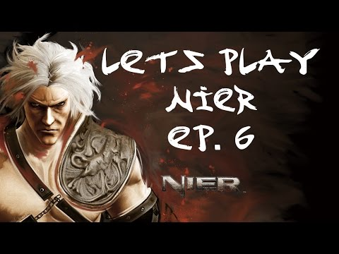 Let's Play! - Nier - Fishing and a RUDE OLD LADY - Ep. 6