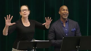 Harriet Harris And Alan H. Green Sing New William Finn Music From ''Royal Family''