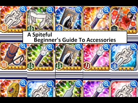 Bleach Brave Souls Accessories Tutorial for Beginners: How to Evolve and Use Efficiently Jan 1 2017