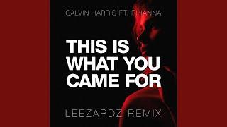 Calvin Harris - This Is What You Came For ft. Rihanna (Leezardz Remix)