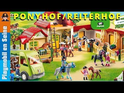 Haras poney club club equitation playmobil 2018 youtube - Playmobil haras ...