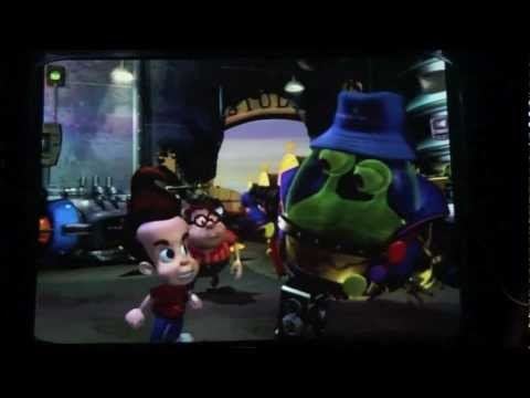 Jimmy Neutrons Nicktoon Blast Full Ride Through Pre And Post Show