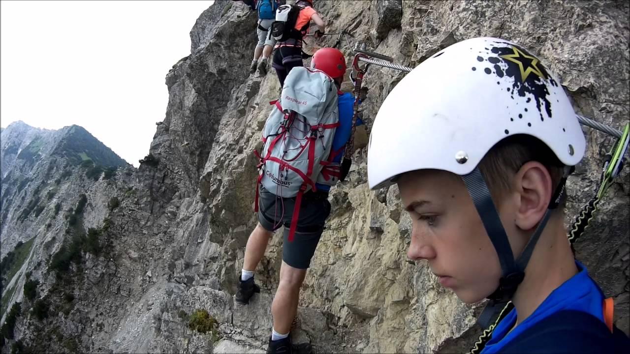 Klettersteig Oberjoch : Salewa klettersteig oberjoch klettersteige