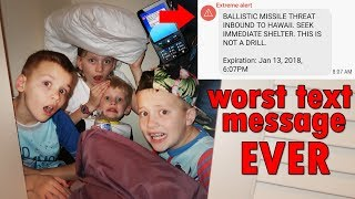 Worst Text Alert Ever || Mommy Monday