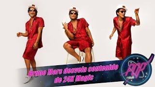 Bruno Mars desvela contenido de 24K Magic