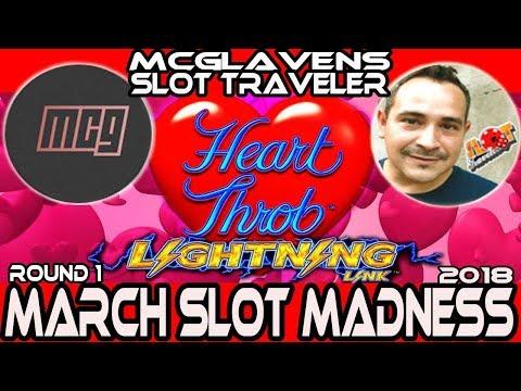 🚩ROUND1 ➡ LIGHTNING LINK HEART THROB 🎰 MarchMadness2018 Slots🎪 MCG'S SLOTGASM VS. SLOT TRAVELER!