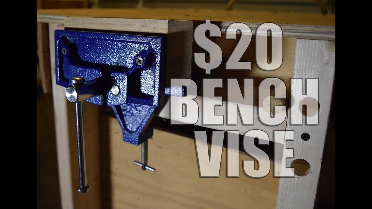 20 Diy Bench Vise Youtube