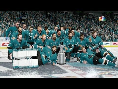 NHL 18 - San Jose Sharks Stanley Cup Celebration