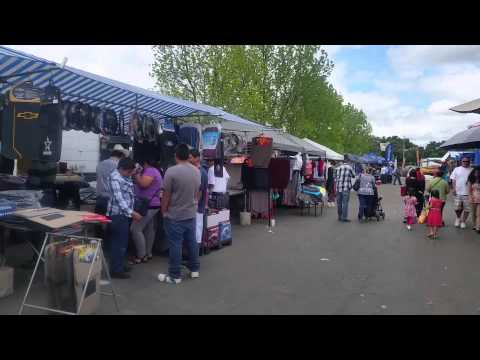 Open Air Mall Fleamarket Stockton, CA