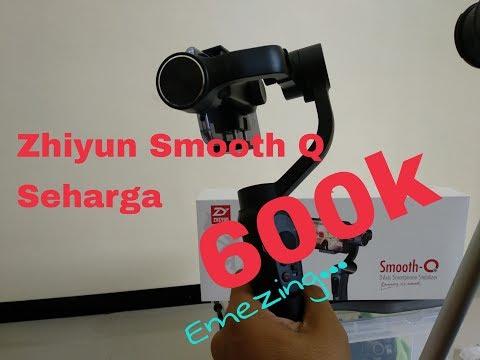 Review & Unboxing Zhiyun Smooth Q Hanya 600rb