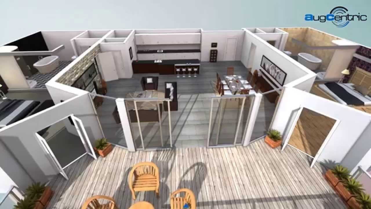2d to 3d floorplan app service youtube for Haus design app