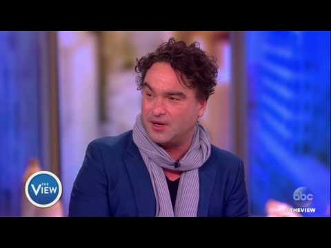 Johnny Galecki Talks 'Rings, 'Working With Ex Kaley Cuoco, & More | The View