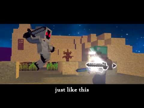 ♫'Herobrine's Life   Minecraft Parody Of Something Just Like This'♪