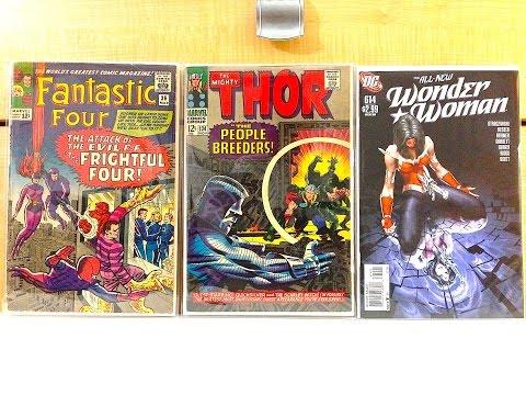 COMIC BOOK MEGA HAUL #3 (+toys!)