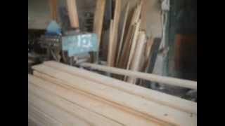 видео Производство блок хауса
