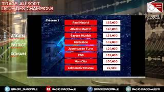 Tirage au sort Ligue des Champions - Live