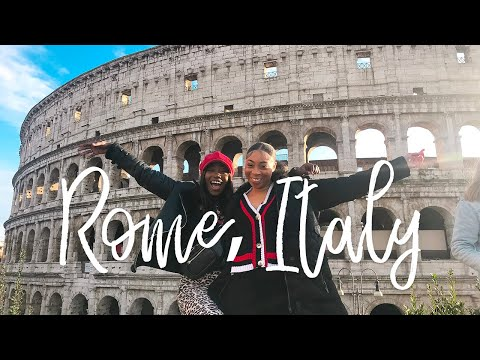 TRAVEL VLOG: 3 Days In Rome, Italy | COLOSSEUM, VATICAN & FOOD GUIDE | Travel 2019