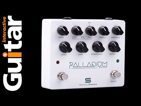 The Best Distortion Pedal? | Seymour Duncan Palladium Gain Stage | Review