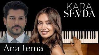 "Kara Sevda- Ana tema dizi muzigi Piano Cover | мелодия из сериала ""Черная любовь"" на пианино #3"