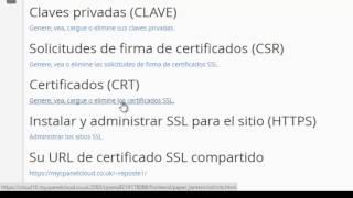 ¿Cómo crear un certificado SSL e instalar HTTPS en un sitio web?