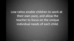 Low Child Teacher Ratios in Child Care Hudson Ohio