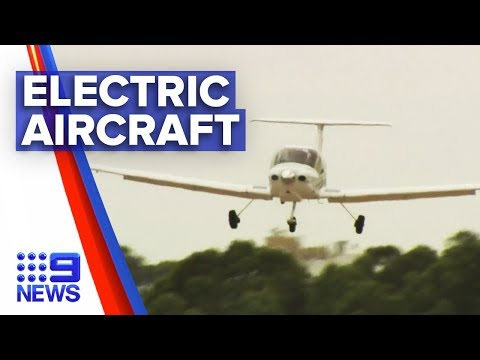 Australia's first electric plane company set to fly in SA | Nine News Australia
