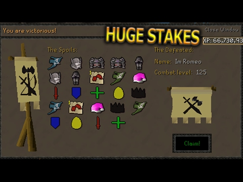 Runeunity RSPS Huge Stakes/Flower Poker! MAKING BANK Best RSPS 2017! Runeunity RSPS