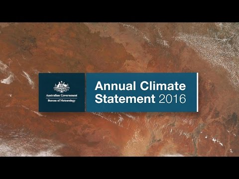 Annual Climate Statement 2016