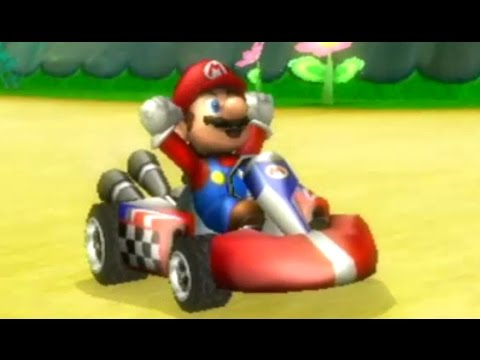 Mario Kart Series - All Mushroom Cup Courses (All 8 Mario Kart Games)