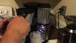Iced Coffee with Ninja Bar Brew