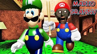 Mario+Oma! Maranny oder Grio? MARIO IST OMA!! | Roblox