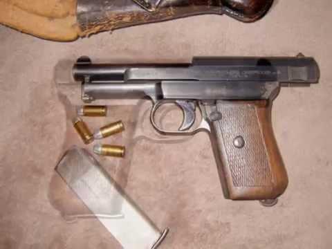 German WWII Mauser 1934 (aka 1910-34) | Doovi