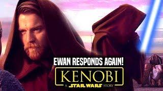 Star Wars! Ewan Mcgregor Responds To Obi Wan Kenobi Movie! (Star Wars News)