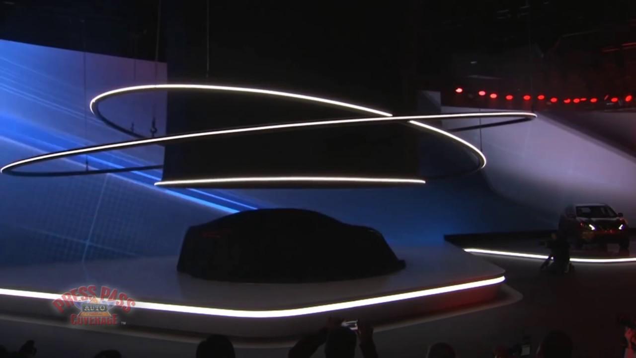 Nissan's Presentation at the Detroit Auto Show